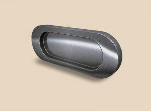 Ручка серебро глянец овальная Италия Северодвинск