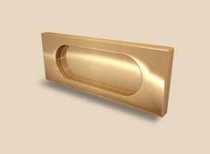 Ручка Золото глянец прямоугольная Италия Северодвинск