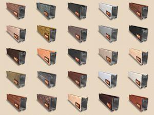 """Алюминиевый ламинированный профиль """"HOLZ"""" для шкафов купе и межкомнатных перегородок Более 100 цветов Северодвинск"""