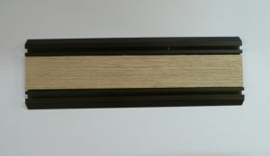 Направляющая нижняя для шкафа-купе вкладка шпон Северодвинск