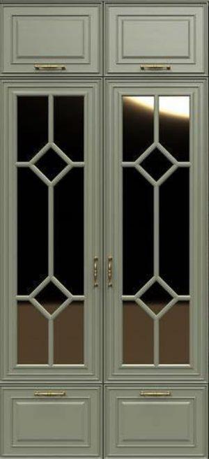 Фасад с фигурной филенкой эмаль Северодвинск