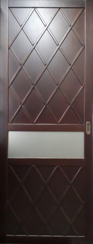 Вставка в дверь с фигурной филенкой Северодвинск